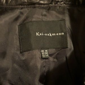 Kai-Aakmann Jackets & Coats - Cape with Removable Vest by Kai-Aakmann, Dark Navy